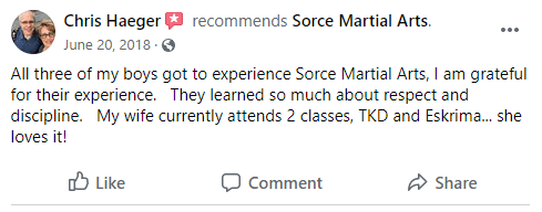1, Sorce Martial Arts in South Milwaukee