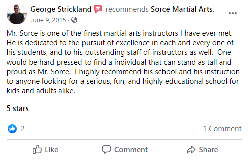 Adult 2, Sorce Martial Arts in South Milwaukee