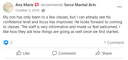 Kids, Sorce Martial Arts in South Milwaukee